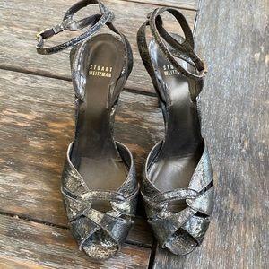 Stuart Weitzman heeled sandal